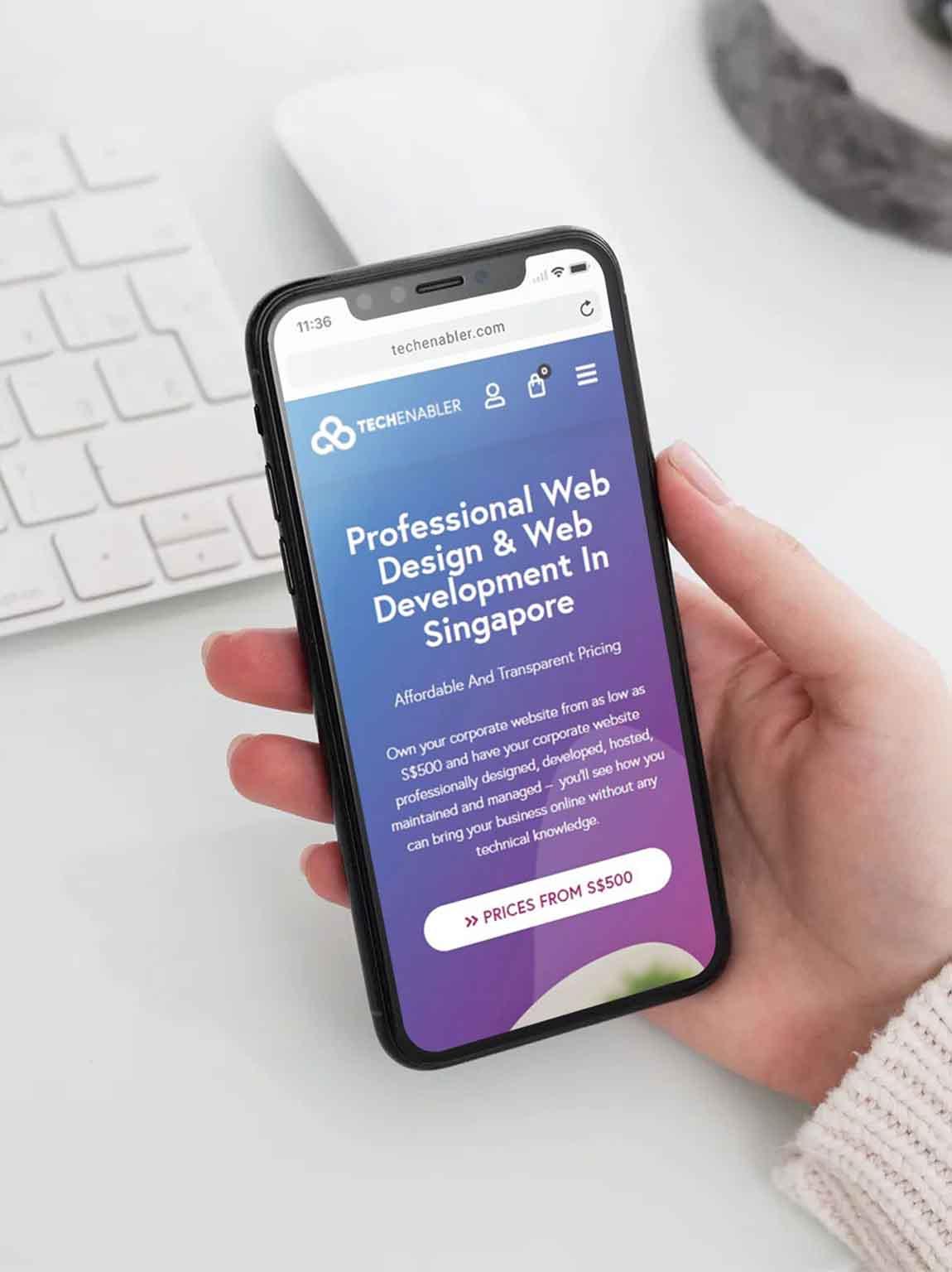 TechEnabler - Web Design Company Singapore