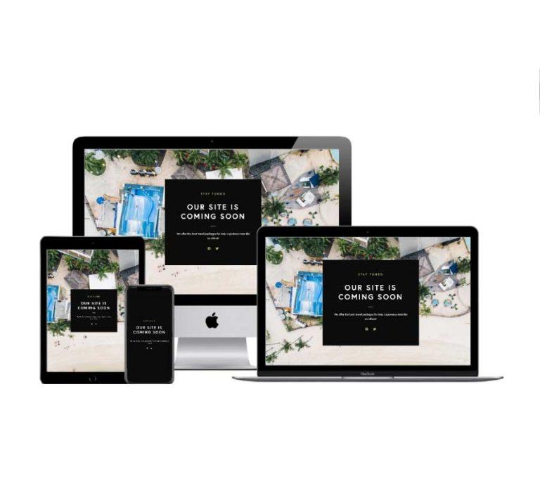 TechEnabler - Web Template - Domain Parking - Coming Soon 1